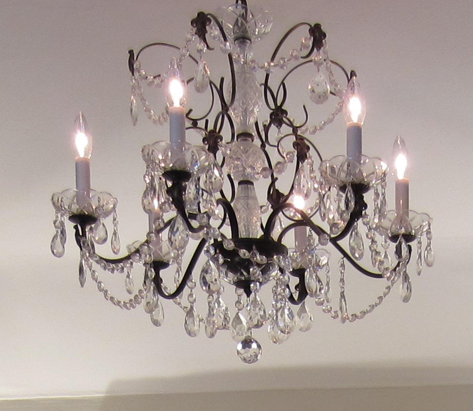Chandeliers – My Collection of House Bling – Incessant Decorator